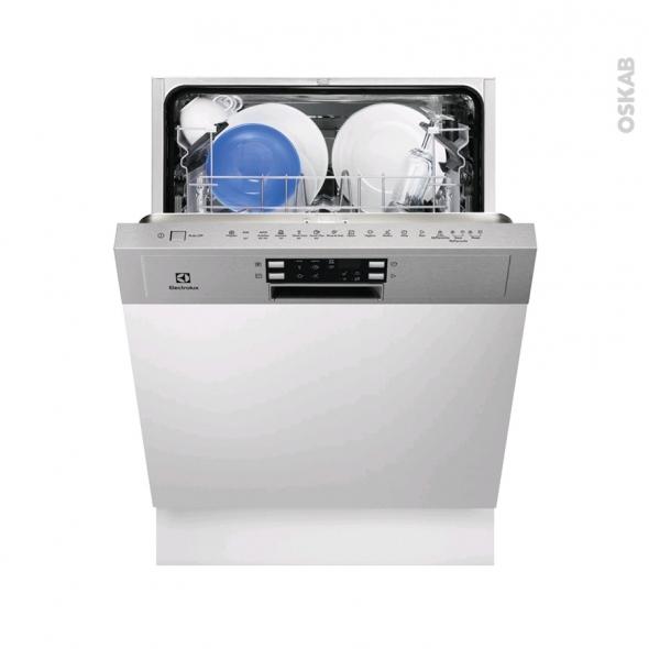 Lave vaisselle 60CM - Intégrable 13 couverts - Inox - ELECTROLUX - ESI5515LAX