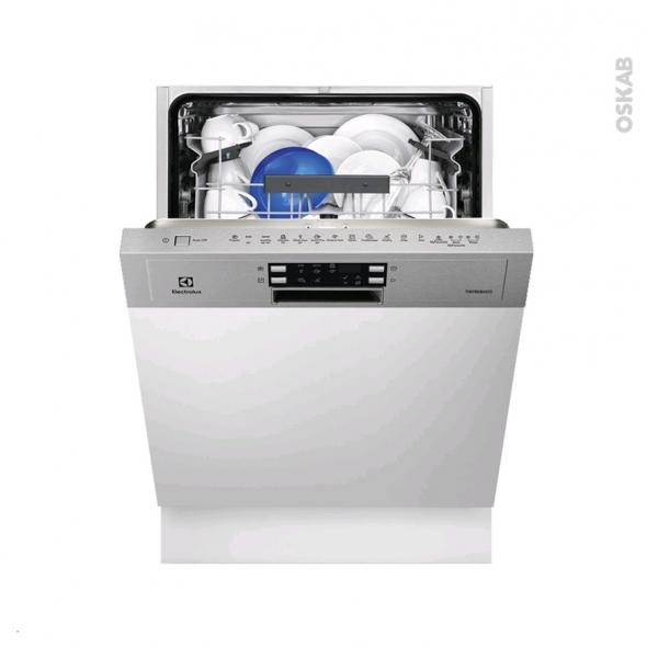 Lave vaisselle 60CM - Intégrable 13 couverts - Inox - ELECTROLUX - ESI5540LAX