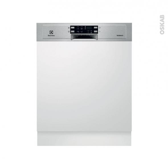 Lave vaisselle 60CM - Intégrable 13 couverts - Inox - ELECTROLUX - ESI5533LOX