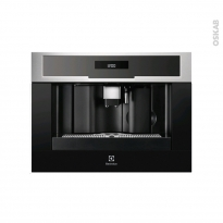 Machine à café - Encastrable 45 cm - Inox anti-trace - ELECTROLUX - EBC54524AX