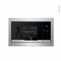 Micro-ondes grill - Intégrable 38cm 25L - Inox - ELECTROLUX - EMT25207OX