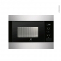 Micro-ondes - Intégrable 45cm 26L - Inox Anti Trace - ELECTROLUX - EMS26004OX