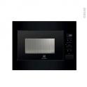 Micro-Ondes 26L - Intégrable 45CM - Noir - ELECTROLUX - EMS26004OK