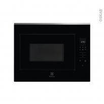 Micro-ondes - Intégrable 45cm 26L - Noir et inox anti-trace - ELECTROLUX - KMFD264TEX