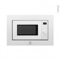 Micro-Ondes 17L - Intégrable 38cm - Blanc et Inox - ELECTROLUX - LMS2173EMW