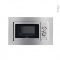 Micro-ondes - Intégrable 38cm 17L - Inox Anti Trace - FAURE - FSM17100XA
