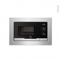 Micro-ondes - Intégrable 38cm 20L - Inox Anti Trace - ELECTROLUX - EMM20117OX