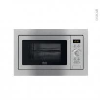 Micro-ondes grill - Intégrable 38cm 25L - Inox Anti Trace - FAURE - FSG25224XA