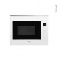 Micro-ondes - Intégrable 45cm 26L - Blanc - ELECTROLUX - KMFE264TEW