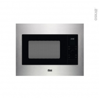 Micro-ondes grill - Intégrable 45cm 25L - Inox - FAURE - FMSN4DX