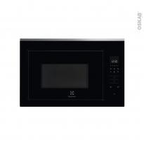 Micro-ondes grill - Intégrable 38cm 26L - Noir et Inox anti-trace - ELECTROLUX - KMFD263TEX