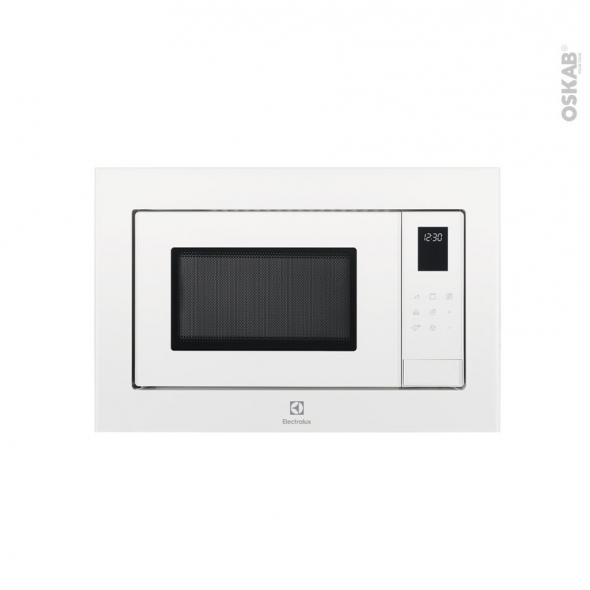 Micro-ondes - Intégrable 38cm 25L - Blanc - ELECTROLUX - LMS4253TMW