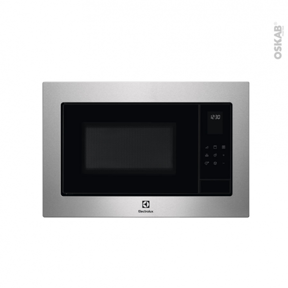 Micro-ondes grill - Intégrable 38cm 25L - Inox - ELECTROLUX - EMS4253TEX