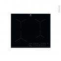 Plaque de cuisson 4 feux - Induction 60 cm - Verre Noir - ELECTROLUX - EIT61443B