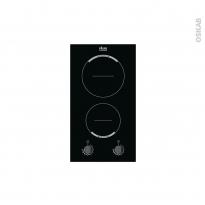 Plaque de cuisson 2 feux - Induction 29 cm - Verre Noir - FAURE - FHH3920BOK