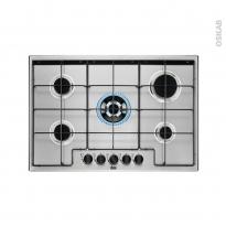 Plaque de cuisson 5 feux - Gaz 75 cm - Inox - FAURE - FGH75524XA