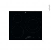 Plaque de cuisson 3 feux - Induction 60 cm - Verre Noir -  ELECTROLUX - LIT60333CK