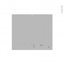 Plaque de cuisson 3 feux - Induction 60 cm - Verre Silver - ELECTROLUX - LIT60342CS