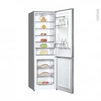 Réfrigérateur combiné 295L - Pose libre 185 cm - Inox - FRIONOR - FD239INOX