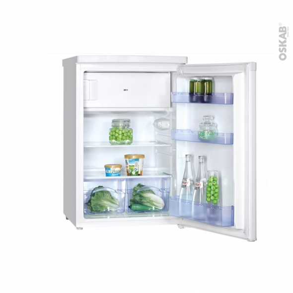 Petit réfrigérateur 109L - Sous plan 85cm - Blanc - FRIONOR - FP554F