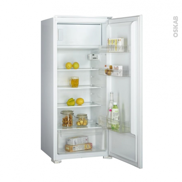 Réfrigérateur 186L - Intégrable 122 cm - FRIONOR - DF122BI