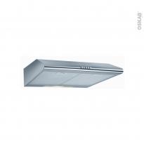 Hotte de cuisine aspirante - Casquette 60cm - Inox - FRIONOR - 5500X