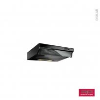 Hotte de cuisine aspirante - Casquette 60cm - Noir - FRIONOR - HC60NO