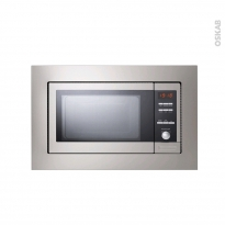 Micro-ondes grill - Intégrable 38cm 23L - Inox - FRIONOR - MEG53K1