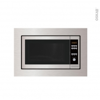 Micro-ondes grill - Intégrable 38cm 23L - Inox - FRIONOR - MEG55K2