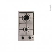Plaque de cuisson 2 feux - Gaz 29 cm - Inox - FRIONOR - DGINFRI
