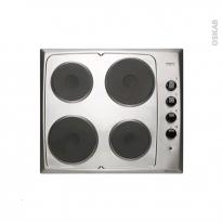 Plaque de cuisson 4 feux - Electrique 60 cm - Inox - FRIONOR - GEINFRI