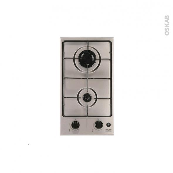 9a90d3cdce609 Plaque de cuisson 2 feux - Gaz 29 cm - Inox - FRIONOR - DGINFRI Frionor