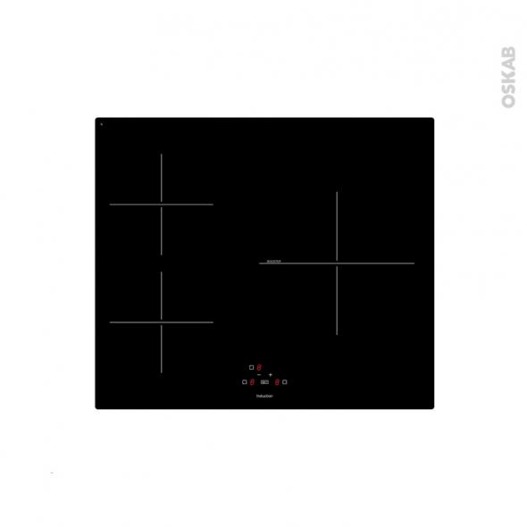 Plaque de cuisson 3 feux - Induction 60 cm - Verre Noir - FRIONOR - VI3