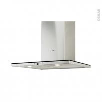 Hotte de cuisine aspirante - Box 90 cm - Inox - SILVERLINE - TOLGI
