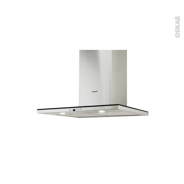 Hotte de cuisine aspirante - Box 60 cm - Inox - SILVERLINE - TOLGI
