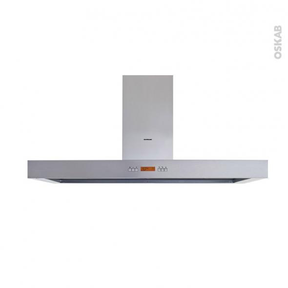 Hotte Ilot décorative - 120cm - Inox - SILVERLINE - TABAKA