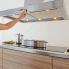 #Hotte de cuisine aspirante - Ilot décorative 120 cm - Inox - SILVERLINE - TABAKA