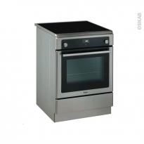 Cuisinière - Induction / Pyrolyse - Inox - WHIRLPOOL - AXMT 6634/IX