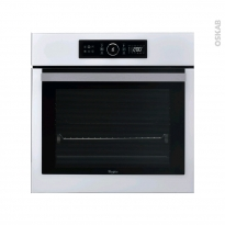 Four multifonction -  Pyrolyse 65L - Blanc - WHIRLPOOL - AKZ6290WH