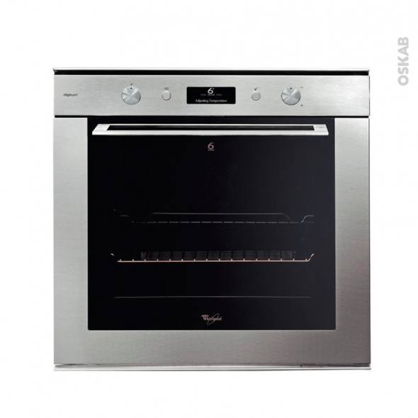 Four multifonction -  Pyrolyse 73L - Inox - WHIRLPOOL - AKZM7632IXL