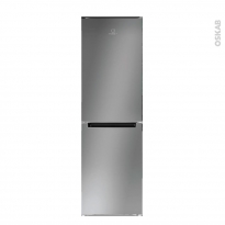 Réfrigérateur combiné 278L - Pose libre 178cm - Silver - INDESIT - LI7 FF2 S B