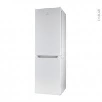 Réfrigérateur combiné 278L - Pose libre 178cm - Blanc - INDESIT - LI7 FF2 W B