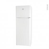 Réfrigérateur combiné 306L - Pose libre 175cm - Blanc - INDESIT - TIAA 12 (1)