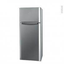Réfrigérateur combiné 306L - Pose libre 175cm - Inox - INDESIT - TIAA 12V X