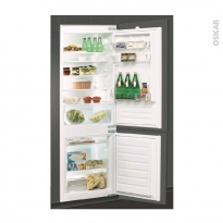 Réfrigérateur combiné 275L - Intégrable 178cm - WHIRPOOL - ART6500/A+