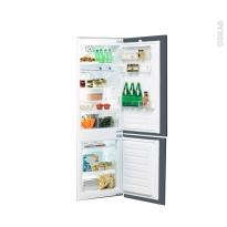 Réfrigérateur combiné 275L - Intégrable 178cm - WHIRLPOOL - ART6614/A+SF