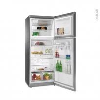 Réfrigérateur combiné 418L - Pose libre 180cm - Inox - WHIRLPOOL - TTNF8211OXAQUA
