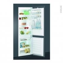 Réfrigérateur combiné 275L - Intégrable 178cm - INDESIT - B18A1D/I