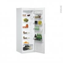 Réfrigérateur 369L - Pose libre 187,5cm - Blanc - INDESIT - SI81QWD