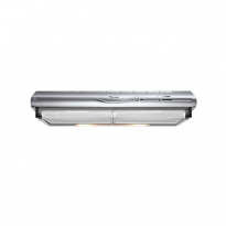 Hotte de cuisine aspirante - Casquette 60cm - Inox - WHIRLPOOL - AKR441IX